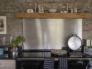 The Old Byre – Kitchen Aga