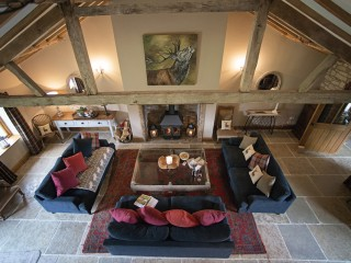 The Old Byre – Living Room Overview