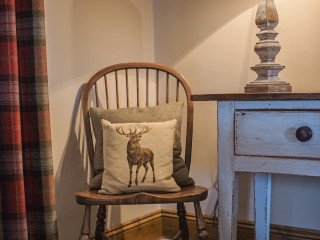 The Old Byre – Winter Sitting Room Detail