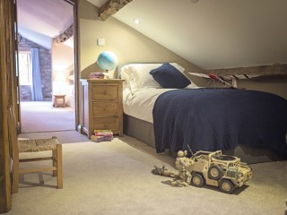 The Old Byre – Upstairs Bedroom