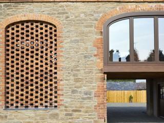 Courtyard and Original Windows