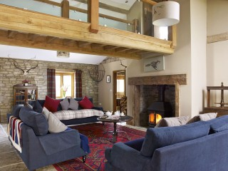 The Old Mill – Winter Sitting Room